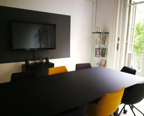 Smoke & Data meeting room